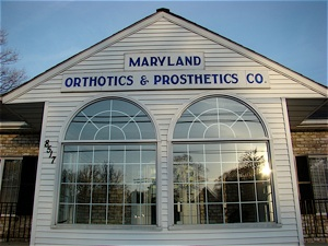 Maryland Orthotics & Prosthetics office