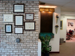 inside view of Maryland Orthotics & Prosthetics office